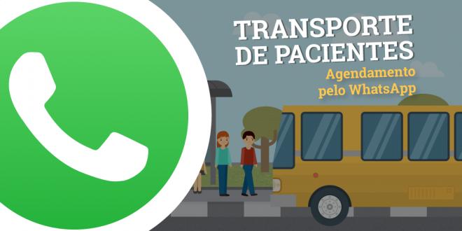 Transporte de Pacientes pelo WhatsApp